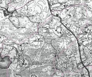 Allika küla ajalooline kaart